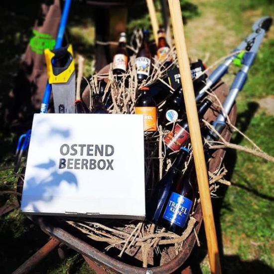 Afbeeldingen van Ostend Beerbox Koelschip Mix  24x33cl + 2 gratis glazen (AKTIE tot eind 2020)