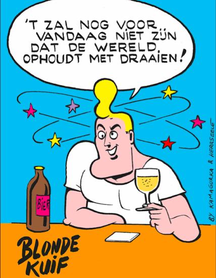 Afbeeldingen van PROMO Beerbox Blonde Kuif 10x75cl + 2 glazen Gratis