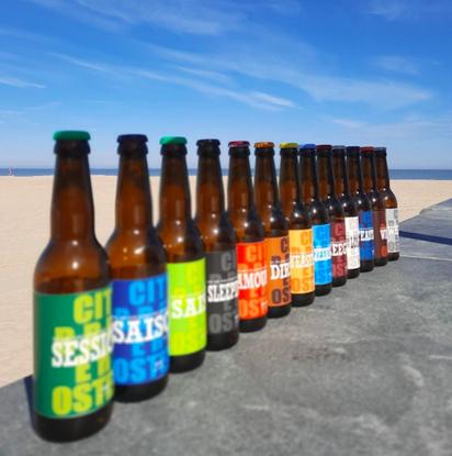Afbeeldingen van Ostend Beerbox Koelschip Mix 12x33cl