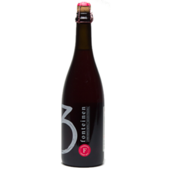 Picture of TOPPER 3 Fonteinen Framboos Oogst 2017 1x75cl +  glas