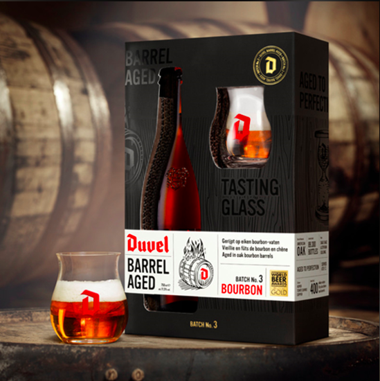 Picture of Duvel Barrel Aged Batch #3 75cl 11.5% ABV.