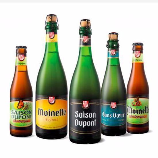 Afbeeldingen van Brouwerij Dupont Mix 4x75cl + 2 Glazen GRATIS