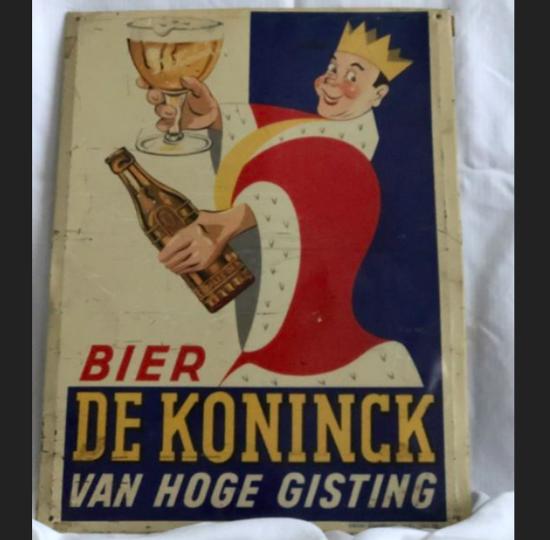 Picture of COLLECTOR SERIES Blikken reclame bord DE KONINCK BIER