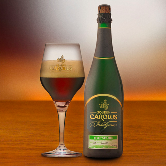 Picture of Gouden Carolus 75cl Indulgence HOPSCURE 2018 + Glas
