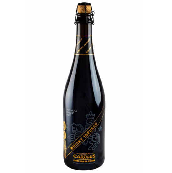 Picture of Gouden Carolus 75cl WHISKEY INFUSED 2019