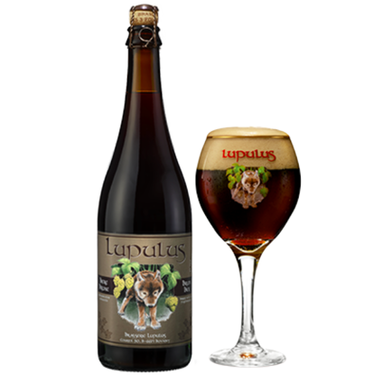 Picture of Lupulus Bruin 8,5% 75cl