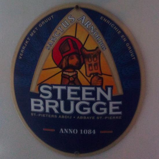 Afbeeldingen van Steen Brugge (Emaille)