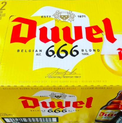 Afbeeldingen van Duvel 666 12x33cl