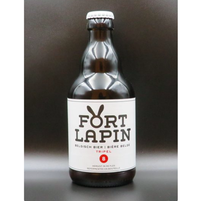 Picture of FORT LAPIN  TRIPEL 8% 24x33cl +2 Glazen