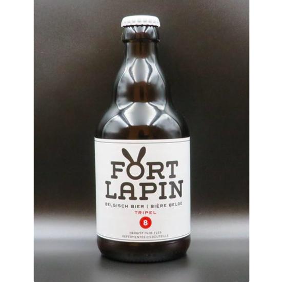 Afbeeldingen van FORT LAPIN  TRIPEL 8% 24x33cl +2 Glazen