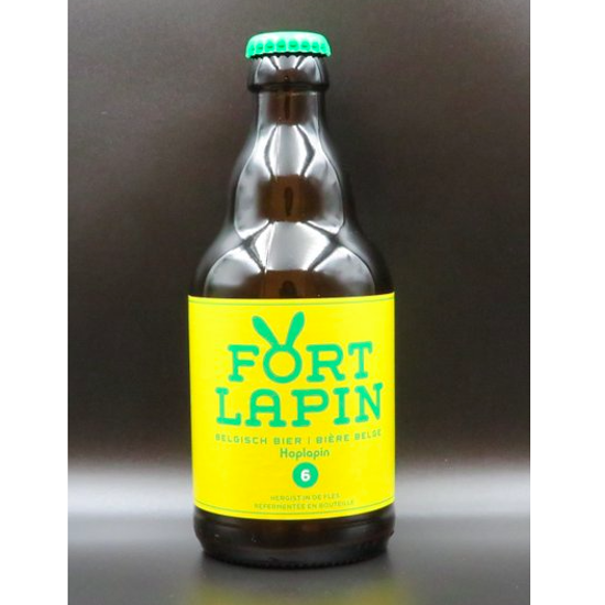 Picture of FORT LAPIN  HOPLAPIN 6% 24X33CL +2 GLAZEN