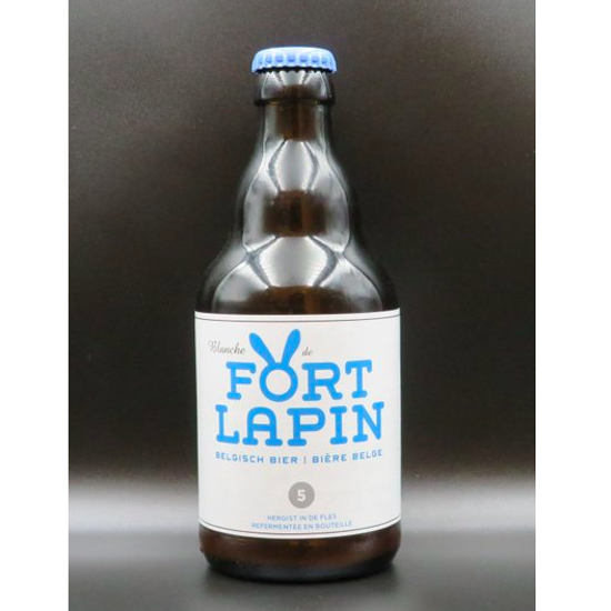 Picture of FORT LAPIN BLANCHE 5% 24X33CL + 2 GLAZEN