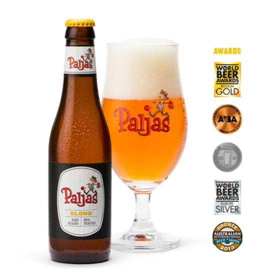 Afbeeldingen van Paljas Blond 6% 6x33cl + gratis glas