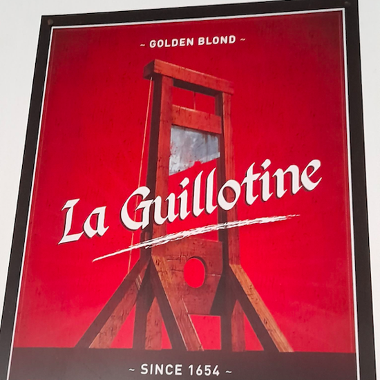 Picture of La Guillotine