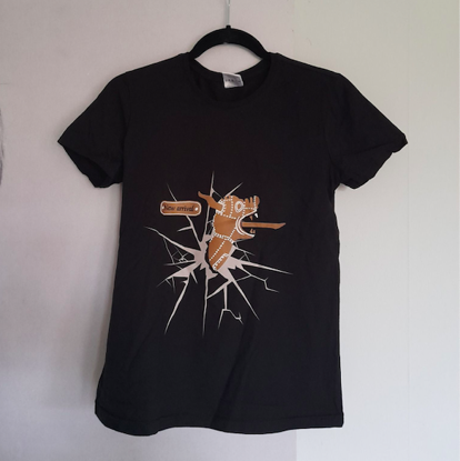 Afbeeldingen van T-shirt (M) Gulden draak 9000